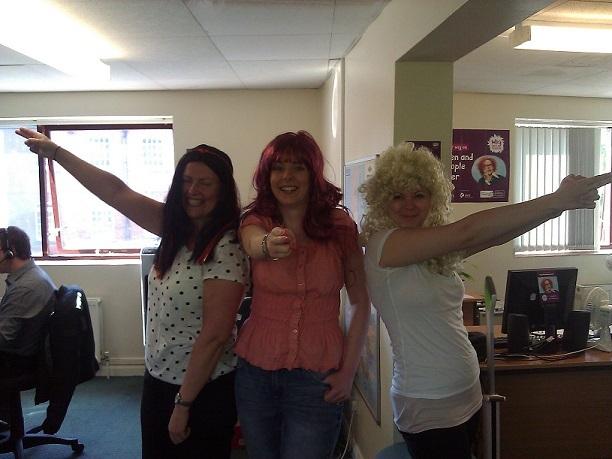 Image of Wig Wednesday Bond girls