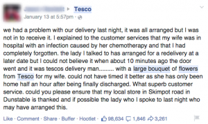 Social Media Customer Service Tesco